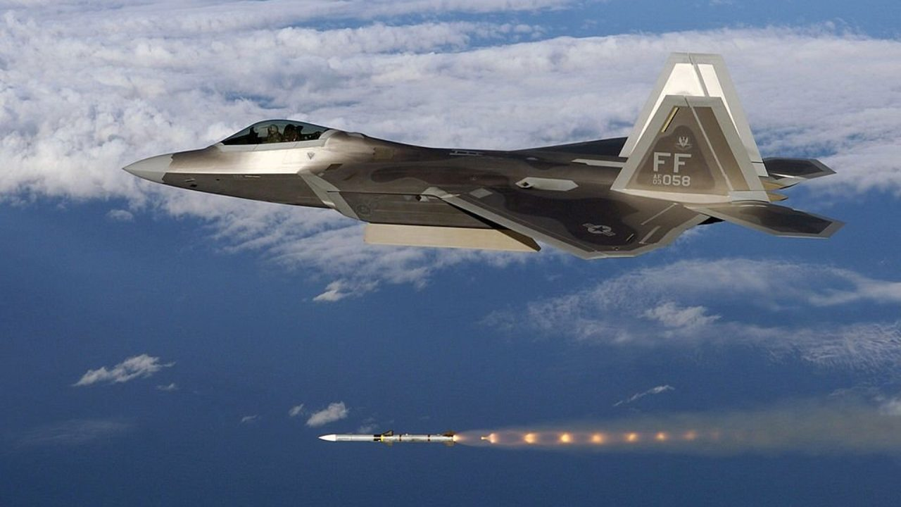 Prototype US AIR FORCE USAF YF-22 Advanced Tactical Fighter ATF aircraft PHOTO